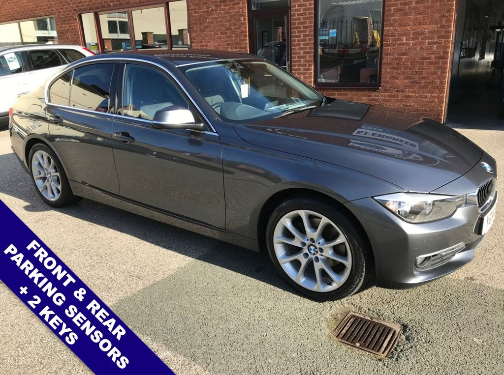 USED 2014 14 BMW 3 SERIES 2.0 320D LUXURY 4DOOR 184 BHP ONLY £30 Road Tax   :   DAB Radio   :   Satellite Navigation   :   USB & AUX Sockets      Cruise Control           :           Phone Bluetooth Connectivity           :           Heated Front Seats       Black Leather Upholstery   :   Remotely Operated Tailgate   :   Front & Rear Parking Sensors