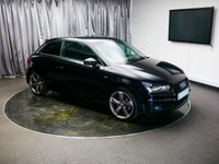 USED 2014 64 AUDI A1 1.4 TFSI BLACK EDITION 3d 138 BHP £0 DEPOSIT FINANCE AVAILABLE, AIR CONDITIONING, BLUETOOTH CONNECTIVITY, CLIMATE CONTROL, DAB RADIO, HEATED DOOR MIRRORS, START/STOP SYSTEM, STEERING WHEEL CONTROLS, TRIP COMPUTER, VOICE CONTROLS