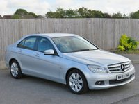 USED 2010 59 MERCEDES-BENZ C CLASS 2.1 C200 CDI BLUEEFFICIENCY EXECUTIVE SE 4d AUTO 136 BHP