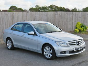 2010 MERCEDES-BENZ C CLASS 2.1 C200 CDI BLUEEFFICIENCY EXECUTIVE SE 4d AUTO 136 BHP £5990.00