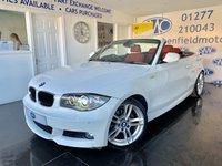 2010 BMW 1 SERIES 2.0 118D M SPORT 2d AUTO 141 BHP £6995.00