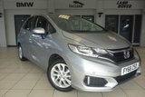USED 2018 68 HONDA JAZZ 1.3 I-VTEC SE 5d AUTO 101 BHP FINISHED IN STUNNIG WHITE WITH FULL CLOTH SEATS + SUPERB SERVICE HISTORY + FRONT & REAR PROXIMITY PARKING SENSORS + DAB DIGITAL RADIO + CRUISE CONTROL + HDMI/AUX/USB INPUT + FUEL SAVING STOP/START FUNCTION + BLUETOOTH CONNECTIVITY + AIR CONDITIONING + 15 INCH ALLOY WHEELS
