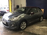 USED 2012 61 CITROEN DS3 1.6 DSTYLE 3d AUTO 120 BHP