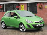 2014 VAUXHALL CORSA 1.2 EXCITE A/C (BLUETOOTH+ONE OWNER) 3dr £4290.00