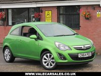 USED 2014 64 VAUXHALL CORSA 1.2 EXCITE A/C (BLUETOOTH+ONE OWNER) 3dr ONE OWNER WITH FULL VAUXHALL SERVICE HISTORY + BLUETOOTH