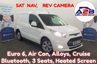 USED 2016 66 FORD TRANSIT CONNECT 1.5 200 LIMITED 120 BHP Euro 6  PEDIGREE EXAMPLE, Colour Nav, Reversing Camera, Air Con, Cruise , Bluetooth Alloys , and much more.... ** Drive Away Today** Over The Phone Low Rate Finance Available, Just Call us on 01709 866668 **