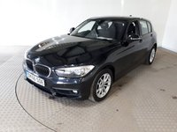 USED 2017 66 BMW 1 SERIES 2.0 118D SE 5d 147 BHP FULL SERVICE HISTORY + 1 OWNER + £20 TAX + SAT-NAV + CRUISE CONTROL + PARKING SENSORS