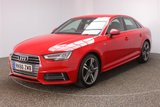USED 2016 66 AUDI A4 3.0 TDI S LINE 4DR SAT NAV HEATED HALF LEATHER SEATS 1 OWNER FULL SERVICE HISTORY + £30 12 MONTHS ROAD TAX + HEATED HALF LEATHER SEATS + SATELLITE NAVIGATION + PARKING SENSOR + BLUETOOTH + CRUISE CONTROL + CLIMATE CONTROL + MULTI FUNCTION WHEEL + DAB RADIO + ELECTRIC WINDOWS + ELECTRIC MIRRORS + 18 INCH ALLOY WHEELSALLOY WHEELS