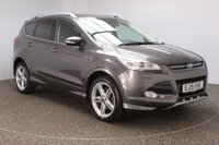 USED 2015 15 FORD KUGA 2.0 TITANIUM X SPORT TDCI 5DR AUTO SAT NAV HEATED LEATHER SEATS 177 BHP FULL SERVICE HISTORY + HEATED LEATHER SEATS +SATELLITE NAVIGATION + PANORAMIC ROOF + REVERSE CAMERA + PARKING SENSOR + BLUETOOTH + CRUISE CONTROL + CLIMATE CONTROL + MULTI FUNCTION WHEEL + DAB RADIO + PRIVACY GLASS + XENON HEADLIGHTS + ELECTRIC WINDOWS + ELECTRIC MIRRORS + 19 INCH ALLOY WHEELS