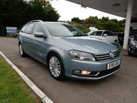USED 2011 61 VOLKSWAGEN PASSAT 2.0 SPORT TDI BLUEMOTION TECHNOLOGY 5d 168 BHP SAT NAV,LEATHER,CRUISE,TWO KEYS,AIR CON,HEATED SEATS