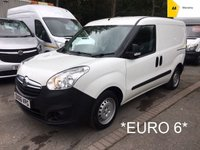USED 2016 66 VAUXHALL COMBO *EURO 6* 1.3 2000 L1H1 CDTI 90 BHP *EXCELLENT VALUE*
