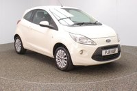 USED 2011 11 FORD KA 1.2 ZETEC 3DR 1 OWNER 69 BHP £30 12 MONTHS ROAD TAX + AIR CONDITIONING + RADIO/CD/AUX/MP3 + ELECTRIC WINDOWS + ELECTRIC MIRRORS + 16 INCH ALLOY WHEELS