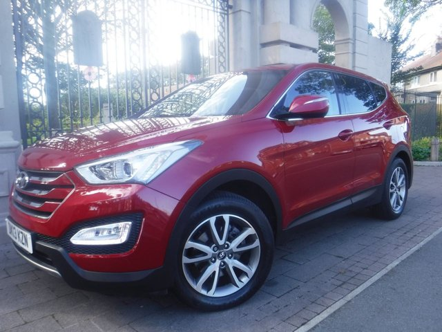 USED 2013 13 HYUNDAI SANTA FE 2.2 STYLE CRDI 5d 194 BHP *** FINANCE & PART EXCHANGE WELCOME *** BLUETOOTH PHONE HEATED SEATS PARKING SENSORS   PRIVACY GLASS CRUISE CONTROL