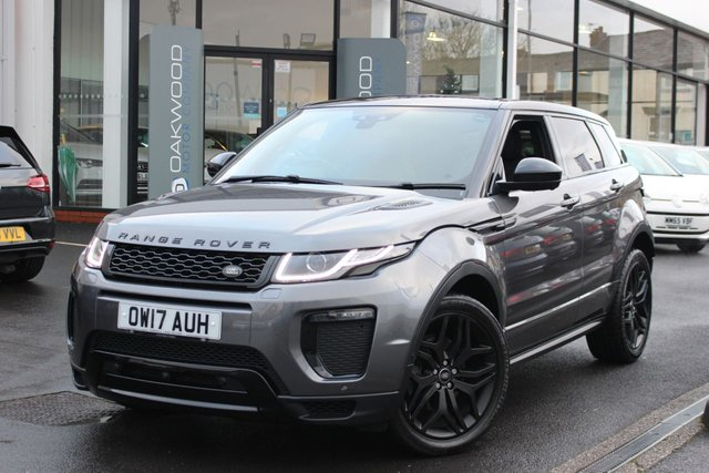 USED 2017 17 LAND ROVER RANGE ROVER EVOQUE 2.0 TD4 HSE Dynamic Lux Auto 4WD (s/s) 5dr