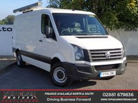 USED 2014 14 VOLKSWAGEN CRAFTER CR35 2.0 TDI 108 BHP MED LONG LOW ROOF P/V**OVER 85 VANS IN STOCK**