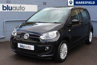 USED 2014 14 VOLKSWAGEN UP 1.0 HIGH UP 5d 74 BHP 2 owners, Full Service History, Heated Front Seats, Satellite Navigation, Air Conditioning, Very Low Running Costs.