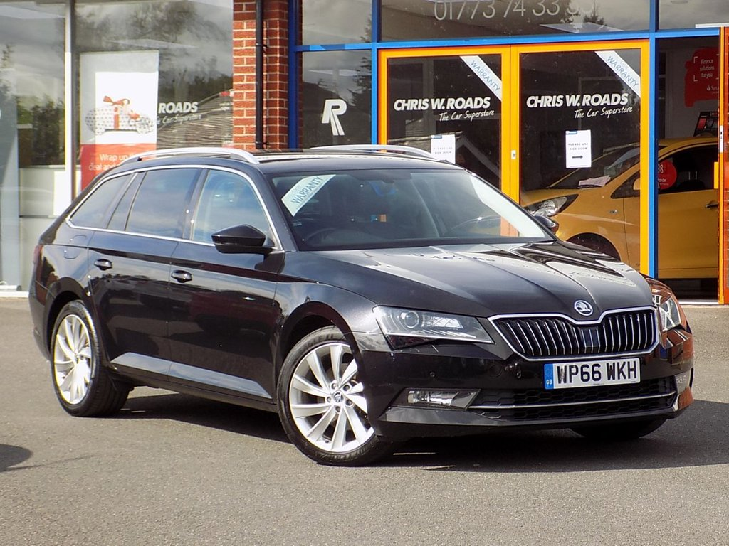USED 2016 66 SKODA SUPERB 2.0 TDI CR SE L Executive 5dr **Sat Nav + Smartlink**