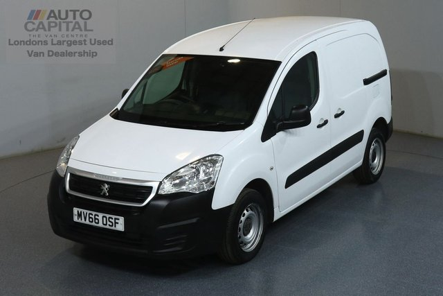 2016 66 PEUGEOT PARTNER 1.6 HDI 850 92 BHP SWB ULEZ COMPLIANT ONE OWNER FROM NEW