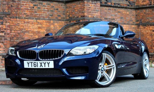 2011 61 BMW Z4 2.5 Z4 SDRIVE23I M SPORT ROADSTER 2d 201 BHP [ PRONAV ]