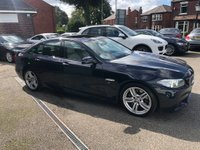 USED 2016 16 BMW 5 SERIES 3.0 535d M Sport 4dr FULL BMW SERVICE HISTORY