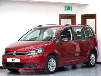 2013 VOLKSWAGEN TOURAN 1.6 TDI BlueMotion Tech S 5dr (7 Seats) £6695.00