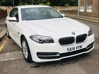 USED 2014 14 BMW 5 SERIES 2.0 520d SE 4dr FULL BMW HISTORY, SATNAV,EURO6