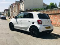 USED 2016 66 SMART FORFOUR 0.9 T Edition White Twinamic (s/s) 5dr MERCEDES HISTORY,PAN ROOF