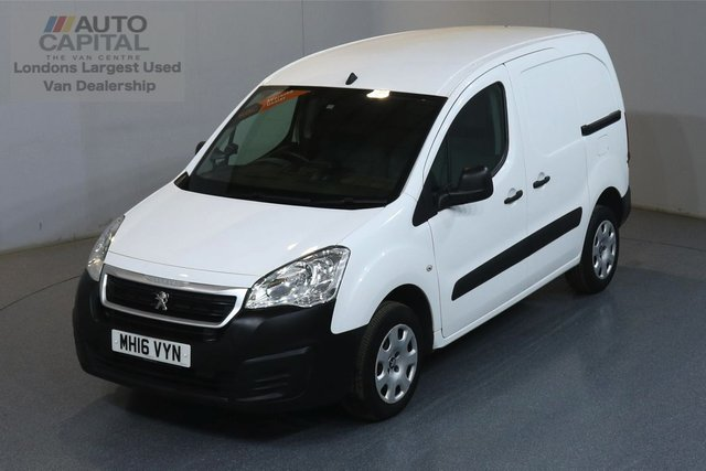 2016 16 PEUGEOT PARTNER 1.6 HDI PROFESSIONAL 850 SWB  89 BHP AIR CON ONE OWNER FROM NEW