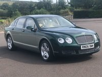 2006 BENTLEY FLYING SPUR FLYING SPUR 6.0 W12 AUTOMATIC 551bhp £20495.00
