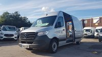 USED 2018 68 MERCEDES-BENZ SPRINTER 314 CDI 141 BHP EURO 6 L.W.B SILVER WARRANTY 2021 ( LOTS MORE NEW MODEL VANS IN STOCK )