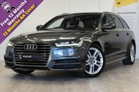 USED 2015 65 AUDI A6 2.0 AVANT TDI ULTRA S LINE 5d AUTO 188 BHP SAT NAV, CRUISE CONTROL, ELECTRIC TAILGATE, FRONT AND REAR PARKING AID, HEATED VALCONA LEATHER, ELECTRIC FOLDING MIRRORS, FULL SERVICE HISTORY