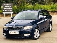2015 SKODA OCTAVIA 1.6 SE BUSINESS TDI CR DSG 5d AUTO 103 BHP £10495.00