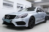 USED 2014 63 MERCEDES-BENZ E-CLASS 2.1L E250 CDI AMG SPORT 2d AUTO 205BHP NAV - CRUISE - AIR CON 7G-TRONIC Including AMG SPORTS PACKAGE PLUS