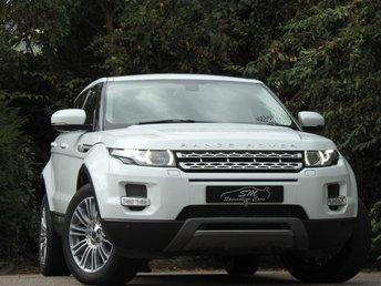 2011 LAND ROVER RANGE ROVER EVOQUE 2.2 SD4 PRESTIGE 5d AUTO 190 BHP £17450.00