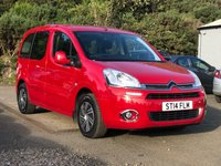 2014 CITROEN BERLINGO MULTISPACE 1.6 HDI VTR 5d 73 BHP £6995.00