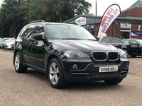 USED 2008 08 BMW X5 3.0 D SE 5d AUTO 232 BHP NAVIGATION SYSTEM +   BLUETOOTH +  FULL LEATHER +   19 INCH ALLOYS +  PARKING AID +
