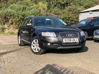 USED 2008 58 AUDI A6 3.0 ALLROAD TDI QUATTRO TDV 5d 229 BHP NAVIGATION SYSTEM + FULL LEATHER + 17 INCH ALLOYS + PARKING AID + COMMUNICATION PACK + LUXURY PACK +