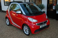 USED 2013 SMART FORTWO CABRIO 1.0 PASSION MHD 2d AUTO 71 BHP MHD Gearbox with AC and a Sliding soft top makes this Smart a great choice.