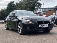 USED 2014 64 BMW 3 SERIES 2.0 318D SPORT 4d 141 BHP FULL BMW SERVICE RECORD*  PARKING AID *  1 OWNER FROM NEW *  BLUETOOTH +   DAB RADIO +