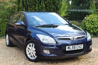 2008 HYUNDAI I30 1.4 SE 5d 108 BHP £2500.00