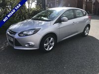 USED 2013 13 FORD FOCUS 1.6 ZETEC ECONETIC TDCI 5d 104 BHP