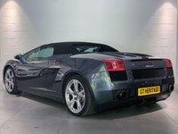 USED 2007 07 LAMBORGHINI GALLARDO 5.0 V10 SPYDER 2d AUTO 513 BHP