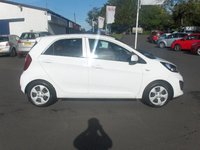 USED 2014 14 KIA PICANTO 1.0 1 5d 68 BHP BALANCE OF MANUFACTURERS SEVEN YEAR WARRANTY