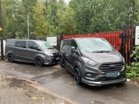 USED 2019 68 FORD TRANSIT CUSTOM 2.0L 300 LIMITED LWB 130BHP EURO6 FACTORY NAV - MV SPORT STYLED MANUFACTURERS WARRANTY - SPARE KEY -NATIONWIDE DELIVERY - ONE OWNER