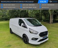 USED 2018 18 FORD TRANSIT CUSTOM 2.0L 300 LIMITED LWB 5d 130BHP EURO 6 MV SPORT STYLED ALLOYS MANUFACTURERS WARRANTY TIL 2021 - APPLE/ANDROID CARPLAY - NATIONWIDE DELIVERY