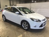 USED 2013 13 FORD FOCUS 1.6 ZETEC TDCI 5d 113 BHP CALL OUR SUPER FRIENDLY TEAM FOR MORE INFO 02382 025 888