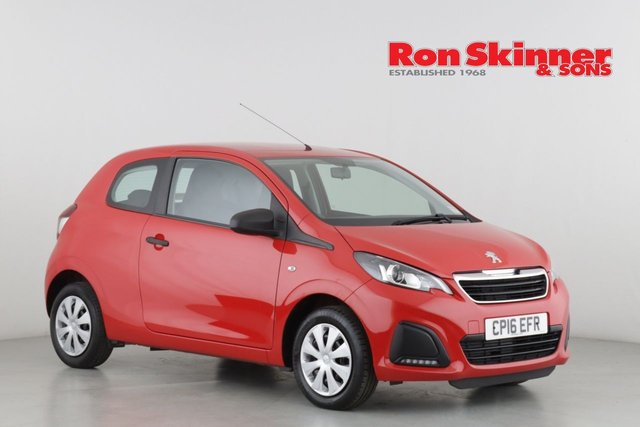 View our 2016 16 PEUGEOT 108 1.0 ACCESS 3d 68 BHP