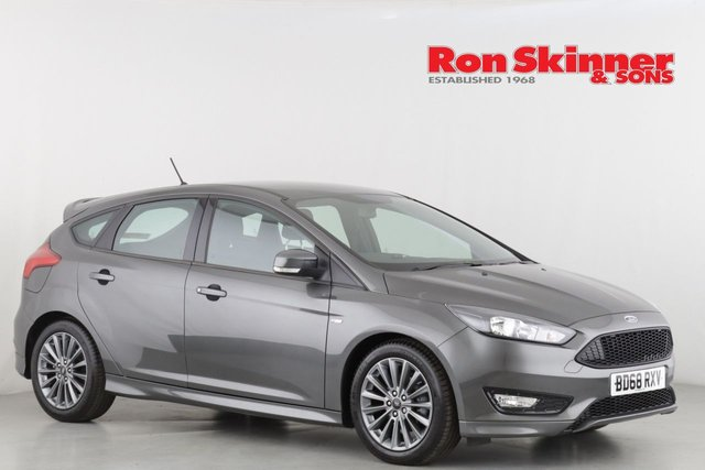 View our 2018 68 FORD FOCUS 1.0 ST-LINE 5d 139 BHP