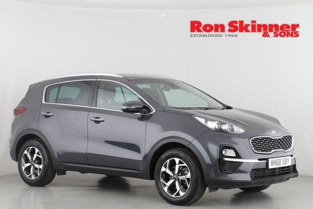 View our 2018 68 KIA SPORTAGE 1.6 CRDI 2 ISG 5d 135 BHP