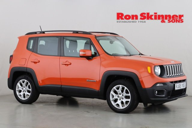 View our 2015 65 JEEP RENEGADE 1.6 LONGITUDE 5d 108 BHP